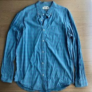 Old Navy XL Tall Plaid Long Sleeve Button Down
